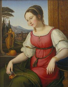 Friedrich Wilhelm von Schadow: Bildnis einer jungen Römerin