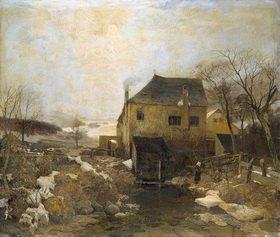 Jakob Emil Schindler: Im März. Mühle bei Rodaun