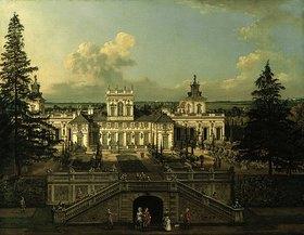 Bernardo (Canaletto) Bellotto: Schloss Wilanow bei Warschau