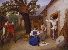 Ludwig Schnorr von Carolsfeld: Der Besuch in der Mühle