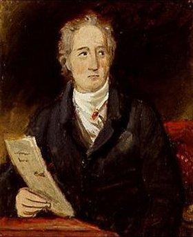 Joseph Karl Stieler: Johann Wolfgang von Goethe. Portrait- Skizze