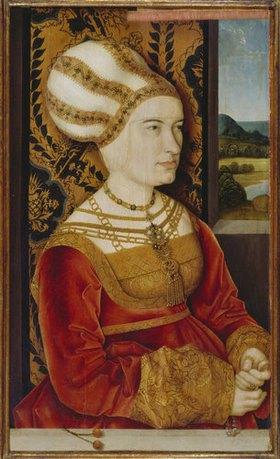 Bernhard Strigel: Sibylla von Freyberg, geb. Gossenbrot, Bildnis