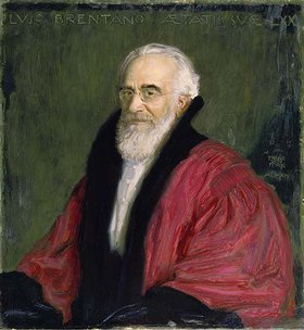 Franz von Stuck: Bildnis Lujo Brentano
