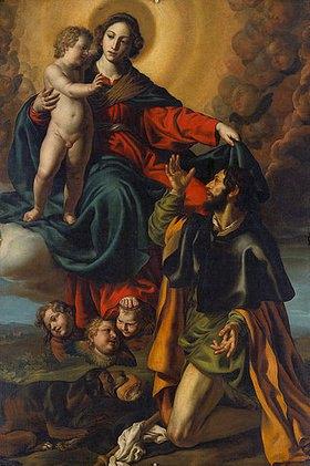 Alessandro Turchi: Madonna mit dem Hl. Rochus (VII)