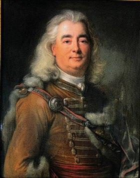 Joseph Vivien: Bildnis des Ladislaus Vetes (oder Környesi). Pastell