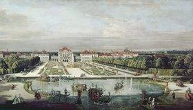 Bernardo (Canaletto) Bellotto: Schloß Nymphenburg, München
