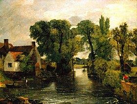 John Constable: Der Mühlbach