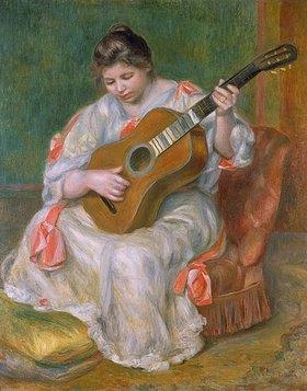Auguste Renoir: Frau mit Gitarre