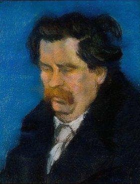 József Rippl-Rónai: Bildnis des ungarischen Dichters Zsigmont Móricz