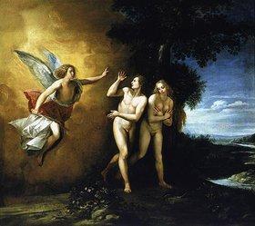 Giuseppe (Cavalliere) Cesare: Die Vertreibung aus dem Paradies