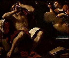 G. Francesco (Guercino) Barbieri: Der hl.Hieronymus hört die Trompeten des Himmels