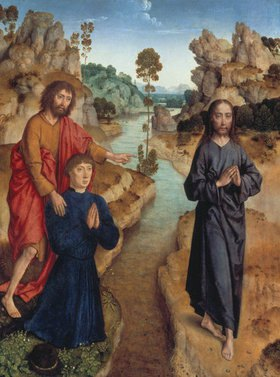 Dieric d.Ä. Bouts: Ecce Agnus Dei