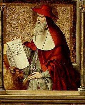 Pedro Berruguete: Der hl.Hieronymus. Thomasaltar im Kloster S.Thomas in Avila/Spanien
