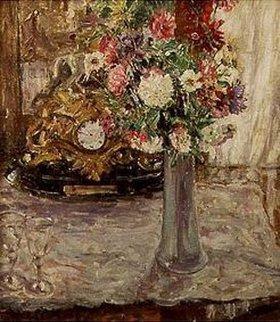 Oskar Moll: Stilleben mit Blumen