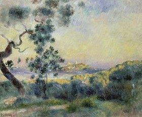 Auguste Renoir: Ansicht von Antibes