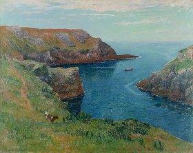 Henri Moret: An der Küste bei Groix