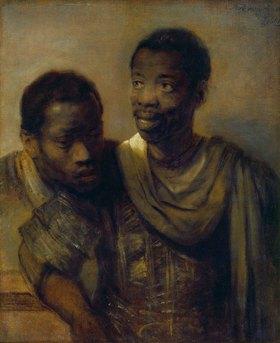 Rembrandt van Rijn: Zwei Afrikaner