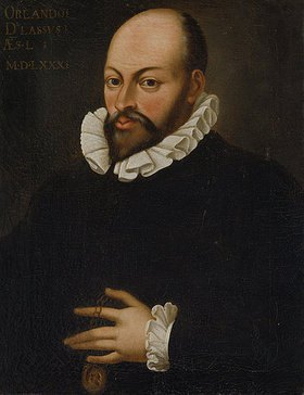 Hans von Aachen: Bildnis Orlando di Lasso. Kopie aus dem 17./18.Jahrhundert nach Hans von Aachen