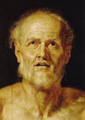 Peter Paul Rubens: Der sterbende Seneca. Um 1611. Detail. (Gesamtes Bild unter ID 1609.)