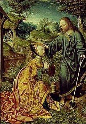 Jacob Corn. van Oostsanen: Christus als Gärtner