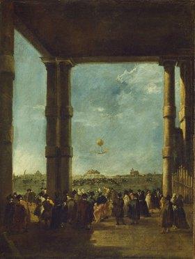 Francesco Guardi: Der Luftballonaufstieg