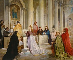 Anselm Feuerbach: Laura in der Kirche