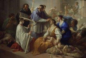 Benedetto Luti: Der heilige Karl Borromäus unter den Pestkranken