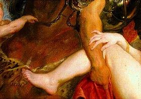 Peter Paul Rubens: Detail aus dem Gemälde Raub der Töchter des Leukippos