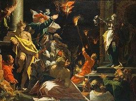 Abraham Bloemaert: Judith zeigt dem Volk das Haupt des Holofernes