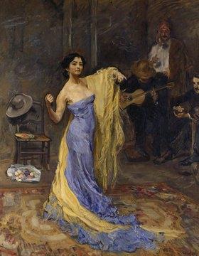 Max Slevogt: Bildnis der Tänzerin Marietta di Rigardo