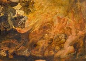 Peter Paul Rubens: Höllensturz der Verdammten. Detail rechts unten