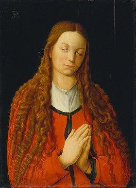 Albrecht Dürer: Bildnis der Katharina Fürlegerin mit offenem Haar
