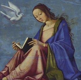 Lorenzo Costa: Lesende Maria