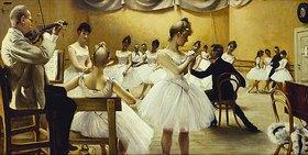 Paul Fischer: Die Ballettschule des königlichen Theaters
