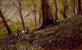 Peder Moensted: Frühling im Foraan Enrum Park