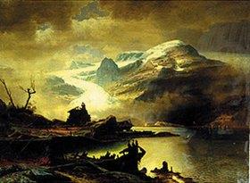Erik Bodom: Der Bondhus-Gletscher in Sunnhordland