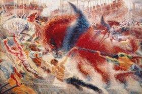 Umberto Boccioni: Die Stadt wächst