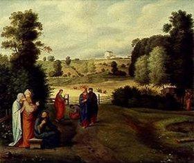 Ferdinand Olivier: Jesus mit seinen Jüngern