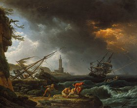 Claude Joseph Vernet: Seesturm