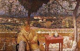 Pierre Bonnard: Gespräch im Park