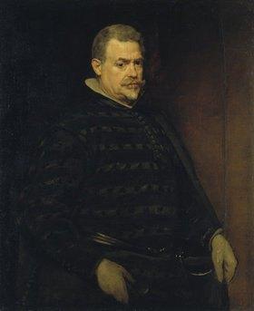 Diego Rodriguez de Velazquez: Bildnis eines Herrn (wahrscheinlich des Oberjägermeisters Juan Mateos)