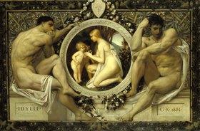 Gustav Klimt: Idylle