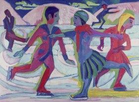 Ernst Ludwig Kirchner: Schlittschuhläufer
