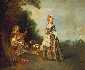 Jean Antoine Watteau: Der Tanz (Iris)