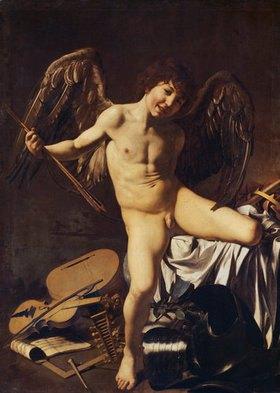 Caravaggio: Amor als Sieger