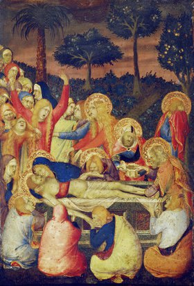 Simone Martini: Die Grablegung Christi