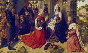Hugo van der Goes: Die Anbetung der Könige (Monforte-Altar)