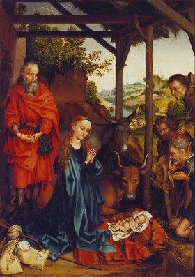 Martin Schongauer: Die Geburt Christi