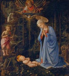 Fra Filippo Lippi: Maria, das Kind verehrend