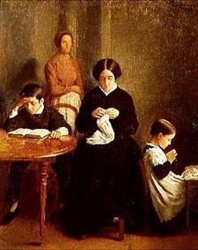 Léon Bonnat: Die Familie des Künstlers